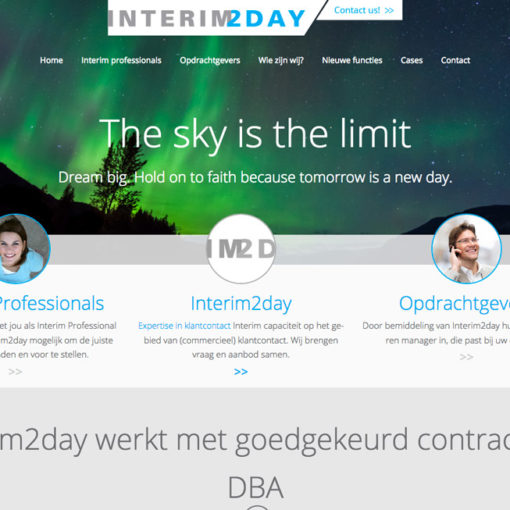 Interim2day Website